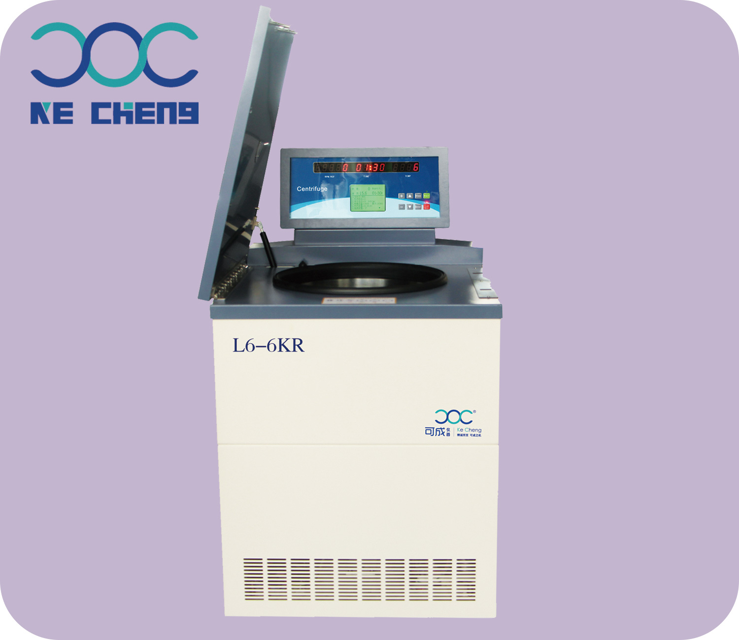 L6-6KR Floor Low speed large capacity Refrigerated centrifuge